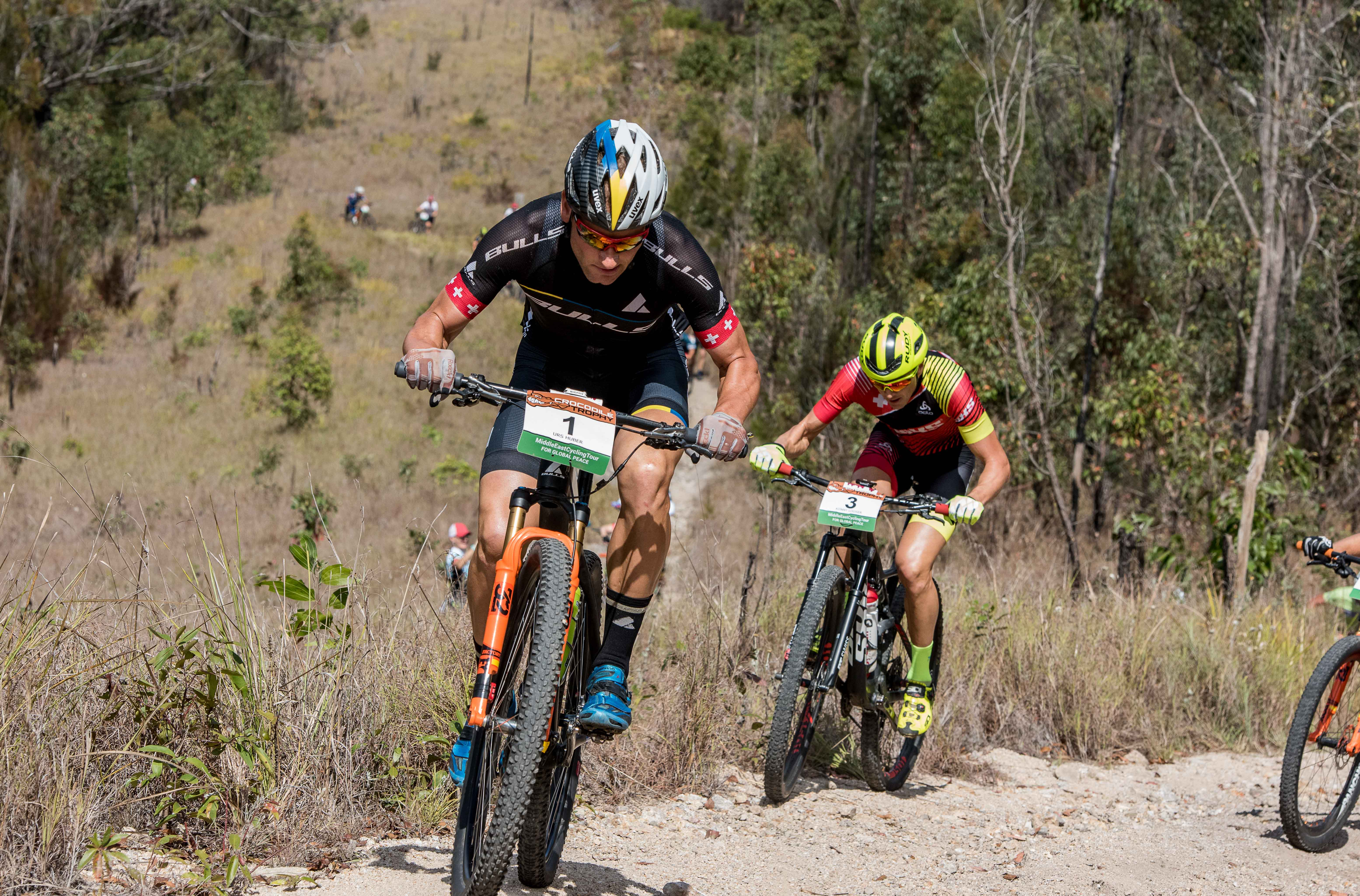 Lucy Coldwell and Urs Huber claim elite stage wins in Herberton